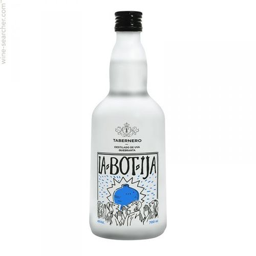 Pisco Quebranta Tabernero 40% 700ml.