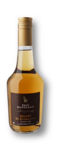 Don Santiago Brandy de Quebranta